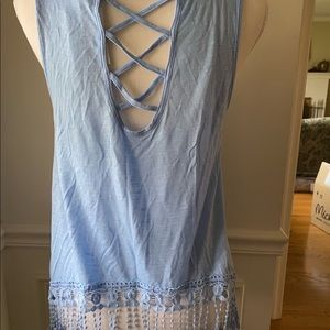 Super soft cage back tank! NWT!